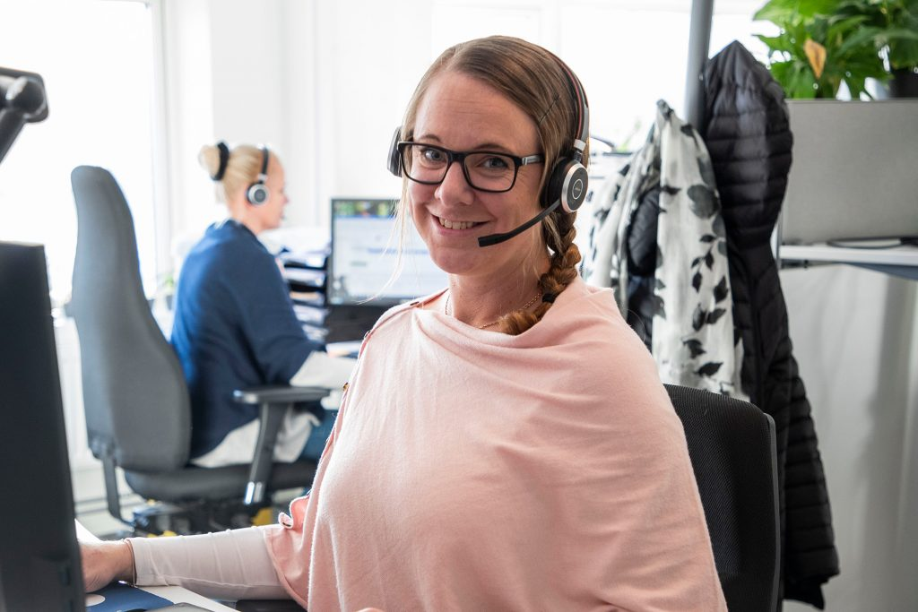 Annica Malm innesäljare på Kvalitetsfisk
